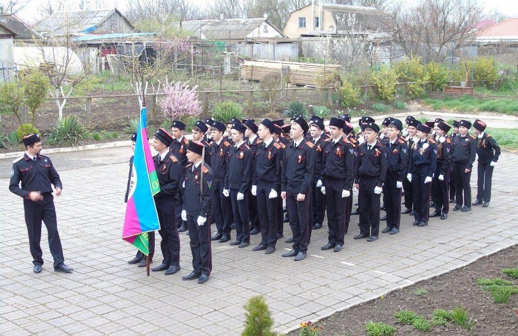 Казачата из Анапы, репетируют парад в Краснодаре + (видео)