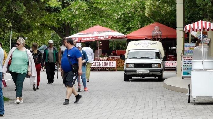 Набережную г. Анапы — оградят от автомобилей, в целях безопасности
