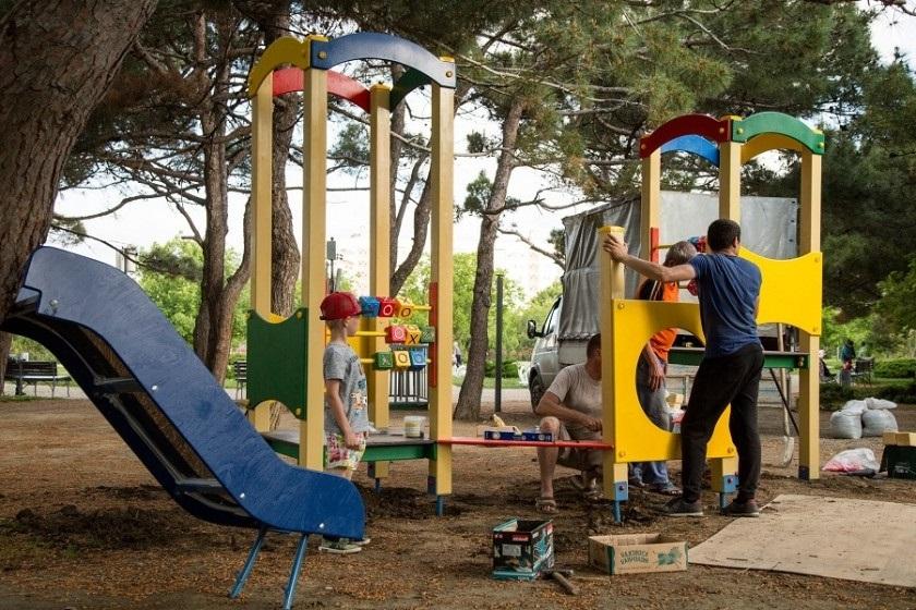 Где в Анапе и районе построят новые площадки для детей?