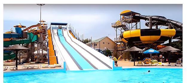 Самый большой аквапарк в Анапе (видео)