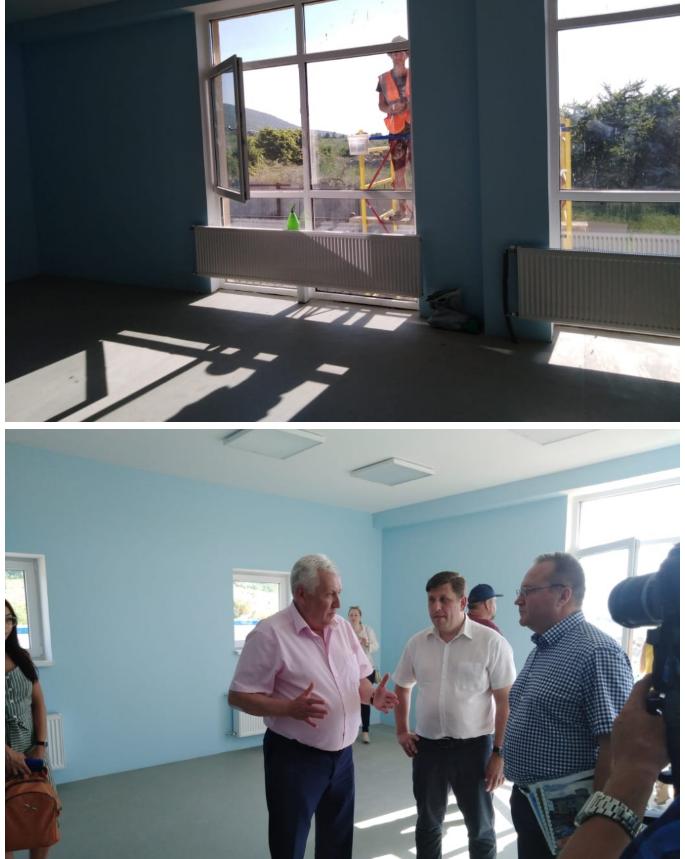 Через 1 месяц в Сукко возле Анапы, откроется новый дет. сад на 80 человек