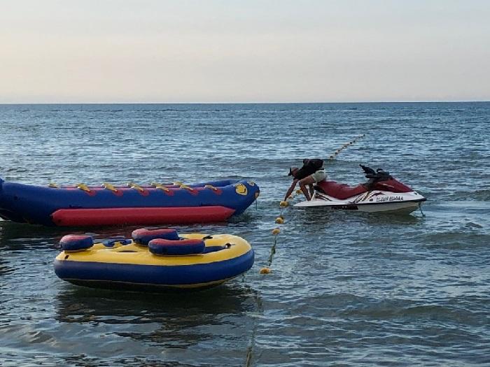 В Витязево под Анапой — закрыли прокат маломерных судов