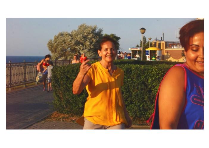 В Анапе прошел флешмоб на набережной - (видео)