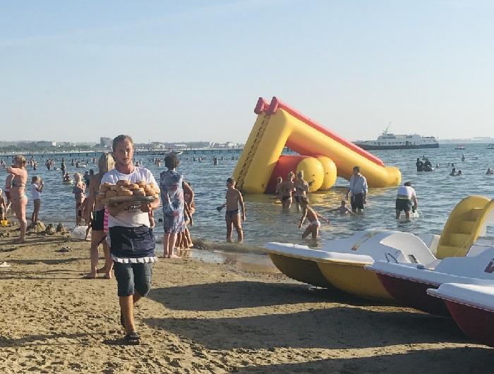 На Анапских пляжах выявил серьезные нарушения