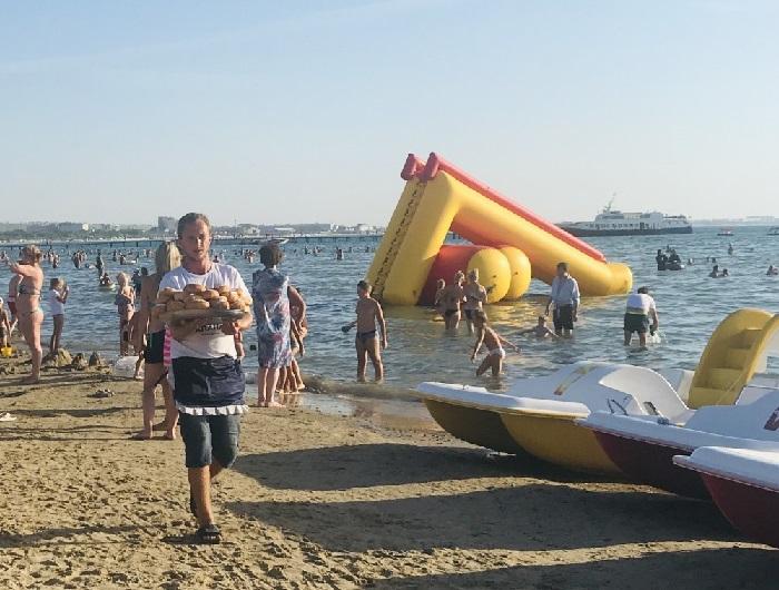 Что продают в Анапе на пляжах?