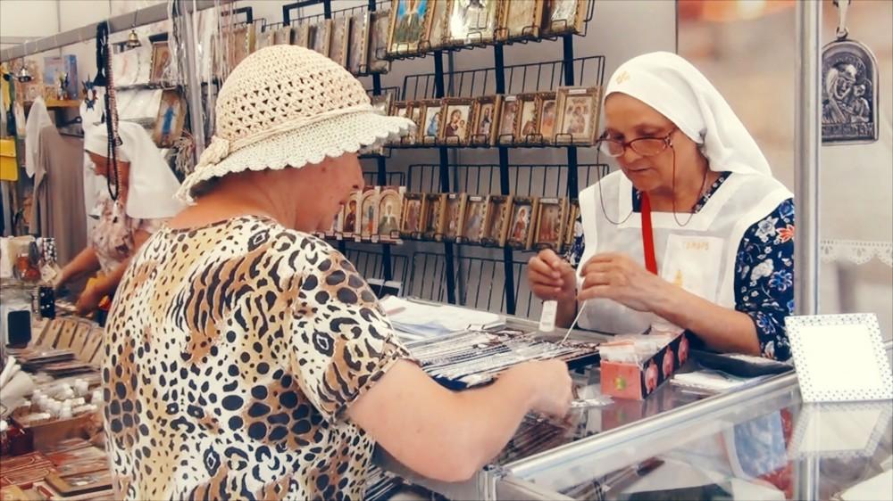 Православная ярмарка в Анапе: приехали Белорусские гости