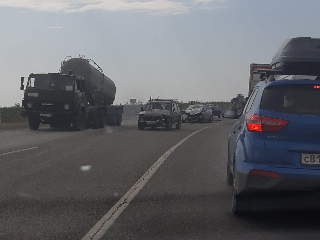 Массовое ДТП в Анапе 05.08.2019
